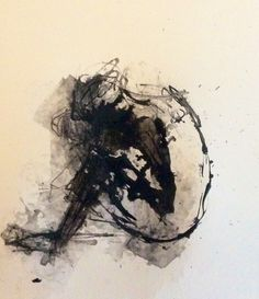 """""""Identity1"""" ink on paper Drawing by Anne Marie Tangen"""