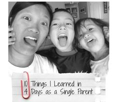 10 Things I Learned in 4 Days as a Single Parent - My husband left for 4 days and the struggle was real. But the lessons I learned are irreplaceable