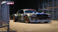 Ken Block's Hoonicorn Mustang Highlights New Hoonigan Car Pack For Forza Horizon 3 @ Top Speed S Car, Rally Car, Forza Horizon 3, Forza Motorsport, Ken Block, Chevy Nova, Ford Escort, Chevrolet Bel Air, Car In The World
