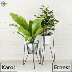 Niezależna Moda I Design Metal Plant Stand, Kaito, Decoration, House Plants, Plant Leaves, Glass Vase, Planters, Herbs, Retro