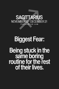 This is my biggest fear.