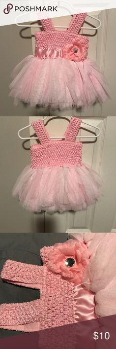 Pink tutu dress size 3 Months EUC super cute pink tutu dress.  Size 3 months Baby Essentials  Dresses Casual