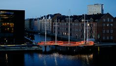Le pont circulaire d'Olafur Eliasson à Copenhague, entre architecture et installation
