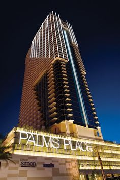 Palms Place Hotel and Spa at the Palms Las Vegas, Las Vegas, United States of America - Lowest Room Rates Las Vegas Vacation Rentals, Las Vegas Trip, Las Vegas Hotels, Las Vegas Nevada, Vegas Fun, Vacation Spots, Palms Hotel, Hotel Spa, Travel Tours