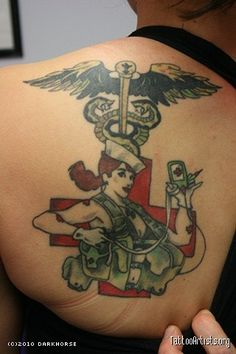 Military medic pictures to pin on pinterest tattooskid for Combat medic tattoo