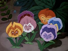 ♫ You can learn a lot of things from the flowers. ♫