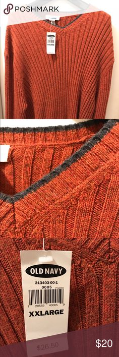 Brand-new cotton wool sweater from Old Navy New condition say 15% by bundling Old Navy Sweaters V-Neck