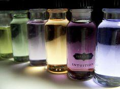 frascos de aromas