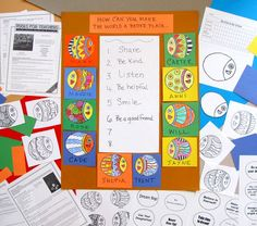 Linda Krantz - inspiration - nice idea for September Year 2 Classroom, Middle School Classroom, Classroom Bulletin Boards, New School Year, First Day Of School, School Themes, School Ideas, 1st Grade Science, Kindergarten Rocks