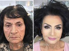 Gençleştiren Makyaj ile Müşterilerini Onlarca Yaş Küçülten Azeri Makyöz!