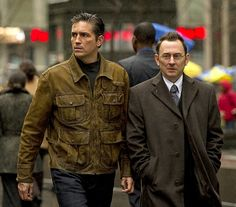 Jim Caviezel and Michael Emerson - Person of Interest