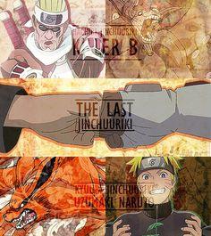 Bee and Naruto.