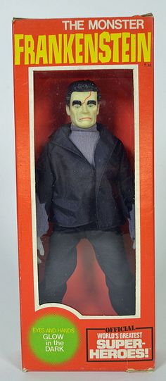 Ahi Universal Monsters Frankenstein Figure that reveals he really is a super-hero Horror Comics, Horror Films, Gi Joe, Frankenstein's Monster, Monster Mash, The Frankenstein, Famous Monsters, Pin On, Classic Monsters