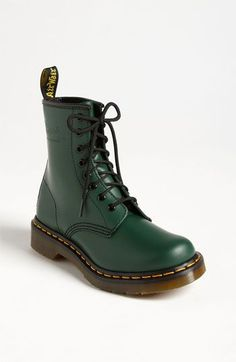 spruce green Dr. Martens '1460 W' Boot