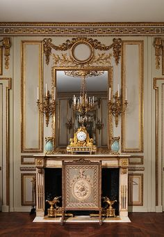 Boiserie from the Hôtel de Cabris, Grasse, ca. 1774, with later additions. The Metropolitan Museum of Art, New York. Purchase, Mr. and Mrs. Charles Wrightsman Gift, 1972 (1972.276.1)
