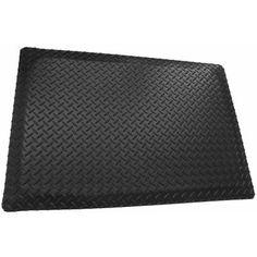 2/' x 10/'  3//8/'/' Thick  Marbleized Surface Industrial Mats Anti-fatigue Matting .