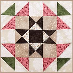 Our Patchwork Party Block