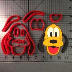 Pluto Cookie Cutter Set