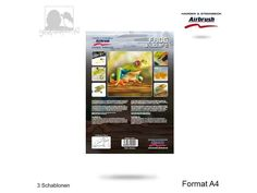 Harder & Steenbeck - Frosch Wildlife Schablone - A4