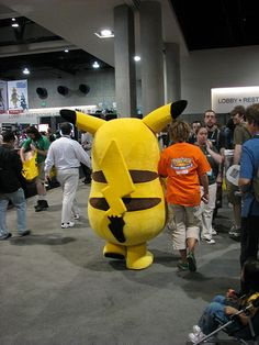 Everything about pikachu. Pikachu mascot costume, adult Pikachu costume - www.MascotShows.com