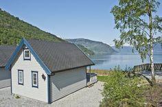 Kinsarvik Camping, Hytter, Hardanger, Norge.