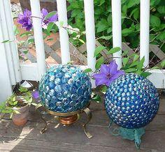 Summer design, decorative balls