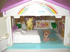 my little pony 80s playset - Google Search