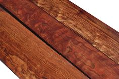 Chechen is also known as Black poisonwood or Caribbean rosewood.  It is not a true Rosewood, but can have a similar two-toned grain pattern and high polish that is very much like a true Dalbergia Rosewood.  This species is used for furniture, cabinets, Jewelry boxes, and humidors as well as many other creative projects.  Colors range from brown, pink, red, golden, and black all embedded with a shimmering iridescence.