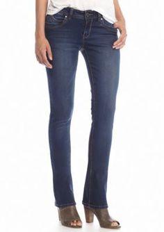 YMI  Wanna Betta Butt Double Stitch Bootcut Jeans