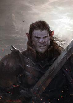 Dorn Il-khan da tribo de Ihas. Sentinela bárbaro e membro da Ordem de Prata, famoso por ser membro da Companhia das Espadas de Nayla. Esse grupo já foi responsável pela destruição de 16 ninhos. O resto do seu grupo partiu para o sul, para buscar provisões. Ele ficou para ajudar nas defesas.