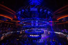 USA - A team of Avolites' powerful Ai EX8 media servers is driving spectacular visuals in Las Vegas's new superclub, Omnia.