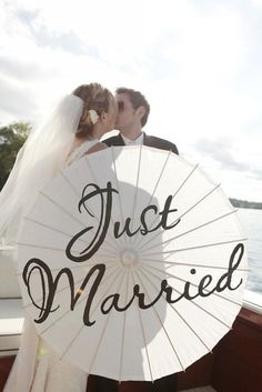 Unique Wedding Photography ♥ Creative Wedding Photography #1048142 - Weddbook...a use for those parasols!