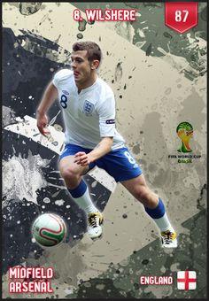 # JackWilshere England FIFA World Cup 2014 Lineup