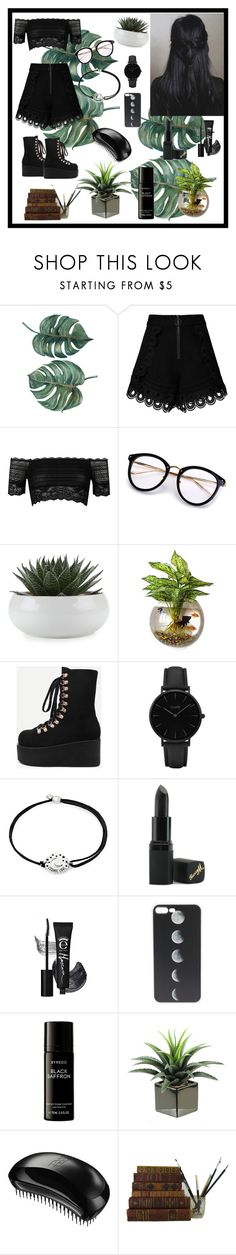 """""""Untitled #14"""" by volohovic-renia ❤ liked on Polyvore featuring self-portrait, River Island, WithChic, CLUSE, Alex and Ani, Barry M, Liberty and Tangle Teezer"""