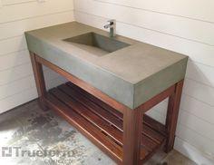 Concrete Bathroom Sink Diy: Concrete Bathroom Sink Diy Pictures,Bathroom