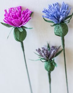 Appetite Paper: DIY - How To Make A Paper Thistle!