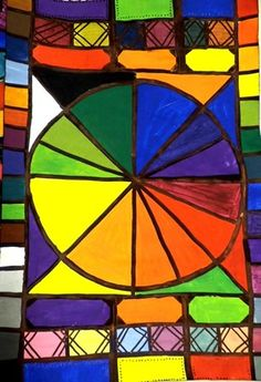 MS Color Wheel Masterpieces - Artsonia Lesson Plan