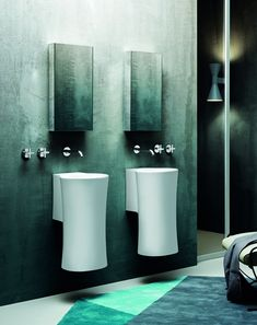 Nativo is a washbasin with pure and simple shapes, conveying an evocative and alienating gentleness. The peculiarity of the washbasin is exp...