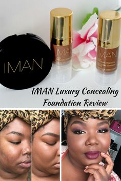 IMAN Luxury Concealing Foundation Review