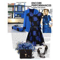 Floral Print Dress by allisha-fa on Polyvore featuring moda, Chi Chi, Alexander McQueen, Burberry, Oscar de la Renta and Fergie
