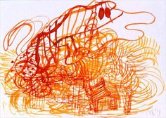 Do Ho Suh - Exhibitions - Lehmann Maupin Free Business Logo, Do Ho Suh, Yellow Art, Art Drawings, Exhibitions, Painting Art, Artist, Ink, Paper