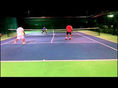 How to Play Simple Tennis Doubles: Close to Close Deep to Deep