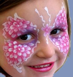 butterfly face paint :) Earn Extra Money Online By Completing Simple Surveys! www.cashcrate.com... Click this link for further info. Im Making Money! Why Arent You? :)