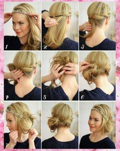 Ideas para un peinado sencillo