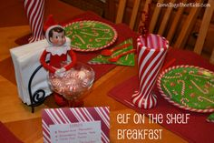 Come Together Kids: Elf on the Shelf Breakfast