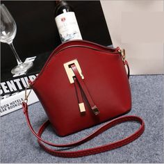 2016 Fashion Designer High Quality Women Messenger #Bags PU Leather Candy Color Crossbody Shoulder #Bags Small Ladies Shell Bag