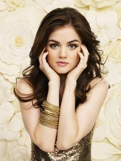 Lucy Hale...GORGEOUS!! Why cant i have her face?! or just her eyes...or eyebrows... =)