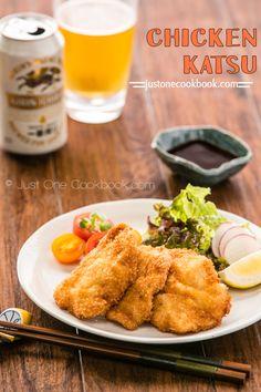 Chicken Katsu (チキンカツ) | Easy Japanese Recipes at JustOneCookbook.com