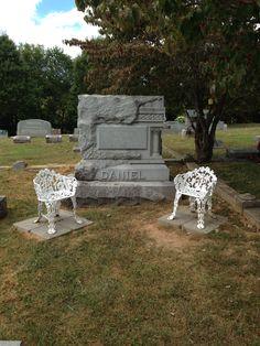 Grave Marker- Jack Daniel, Bourbon Producer,