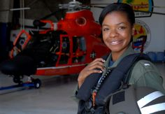 Lt. j.g. La'Shanda Holmes: On April 9, 2010, Holmes became the first African American female helicopter pilot in the U.S. Coast Guard.